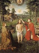Gerard David The Baptism of Christ oil painting picture wholesale