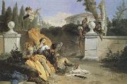 Giambattista Tiepolo Recreation by our Gallery oil painting picture wholesale