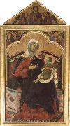 Guido da Siena Madonna and CHild oil painting artist