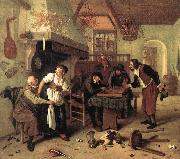 Jan Steen In the Tavern oil painting picture wholesale
