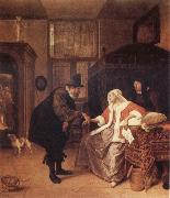 Jan Steen The Lovesick Woman oil painting