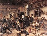 Jan Steen The Village School oil painting picture wholesale