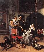 Jan Steen Doctor's Visit oil painting