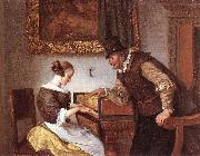 Jan Steen The Harpsichord Lesson oil painting