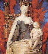 Jean Fouquet Madonna and Child oil painting picture wholesale