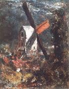 John Constable A windmill near Brighton oil painting picture wholesale