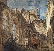 John Constable Cowdray House:The Ruins 14 Septembr 1834 oil painting picture wholesale