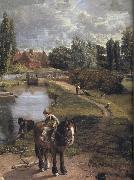 John Constable Flatford Mill oil painting picture wholesale