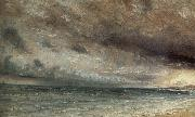 John Constable Stormy Sea,Brighton 20 july 1828 oil painting picture wholesale