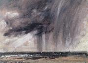 John Constable Rainstorm over the sea Sweden oil painting artist