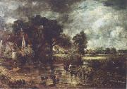 John Constable Full sale study for The hay wain oil painting picture wholesale