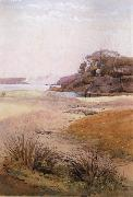 Julian Ashton View of Narth Head,Sydney Harbour 1888 oil painting picture wholesale