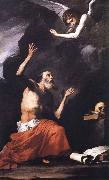 Jusepe de Ribera St.Ferome and the Angel oil painting picture wholesale