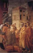 MASACCIO St Peter distributes the Goods of the Community and The Death of Ananias oil painting picture wholesale