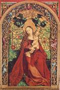 Martin Schongauer Madonna of the Rose Bower oil painting artist