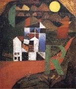 Paul Klee Villa R oil painting picture wholesale