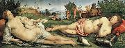 Piero di Cosimo Recreation by our Gallery Sweden oil painting artist