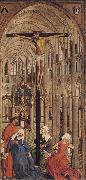 Roger Van Der Weyden Crucifixion in a Church oil painting picture wholesale