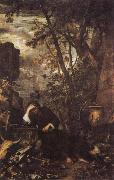 Salvator Rosa Democritus in Meditation oil painting picture wholesale