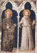 Simone Martini St Anthony and St Francis oil painting picture wholesale