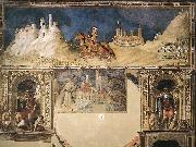 Simone Martini Equestrian portrait of Guidoriccio da Fogliano oil painting picture wholesale
