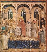 Simone Martini Burial of St Martin oil painting picture wholesale