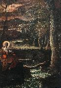 Tintoretto St Mary of Egypt oil painting picture wholesale