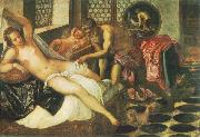 Tintoretto Vulcanus Takes Mars and Venus Unawares oil painting picture wholesale