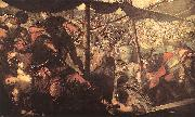 Tintoretto Battle between Turks and Christians oil painting picture wholesale
