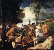 Titian Bacchanal of the Andrians oil painting picture wholesale