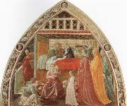 UCCELLO, Paolo Birth of the Virgin oil painting picture wholesale