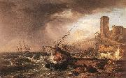 VERNET, Claude-Joseph Storm with a Shipwreck oil painting picture wholesale