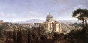 WITTEL, Caspar Andriaans van The St Peter's in Rome oil painting picture wholesale