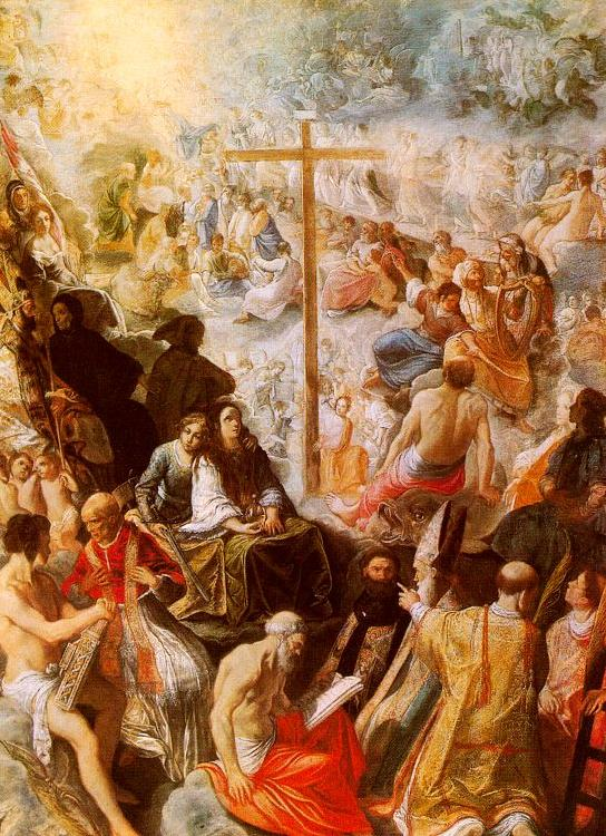 Adam  Elsheimer The Glorification of the Cross oil painting image