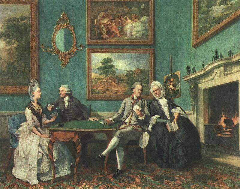 Johann Zoffany The Dutton Family oil painting image