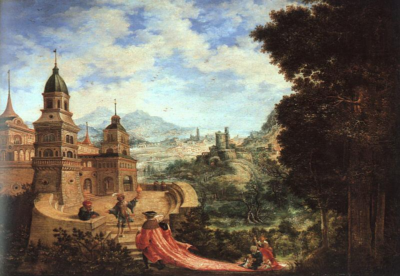 Albrecht Altdorfer Allegory oil painting image