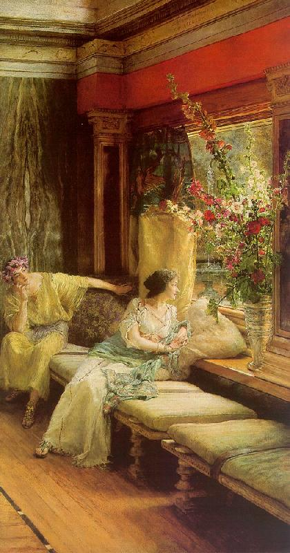 Alma Tadema Vain Courtship oil painting picture