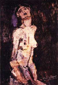 Amedeo Modigliani Suffering Nude oil painting image