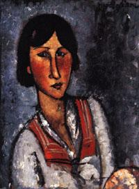 Amedeo Modigliani Portrait of a Woman oil painting image