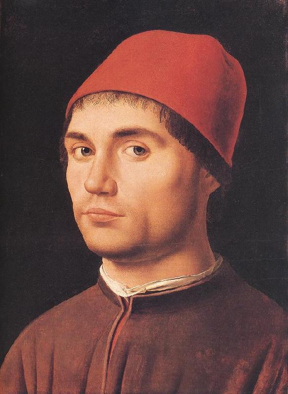 Antonello da Messina Portrait of a Man  jj Sweden oil painting art