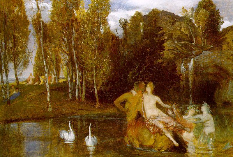 Arnold Bocklin Elysian Fields oil painting image