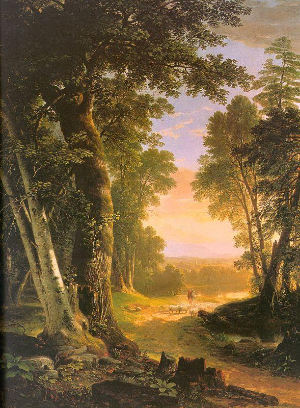 Asher Brown Durand The Beeches Sweden oil painting art