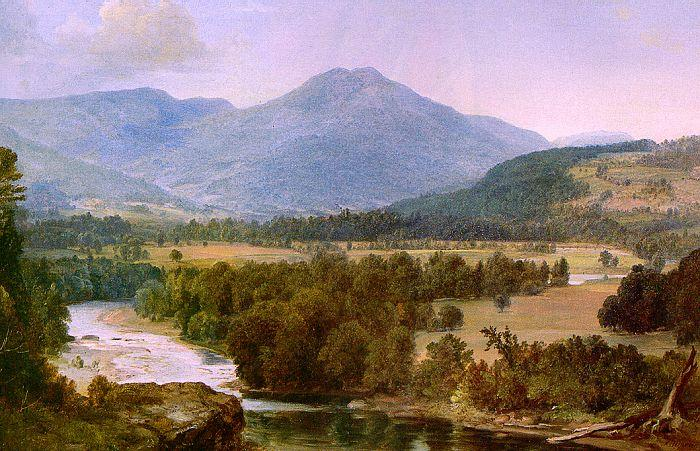 Asher Brown Durand Genesee Valley Landscape Sweden oil painting art