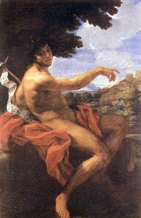 BACCHIACCA St John the Baptist ff oil painting image