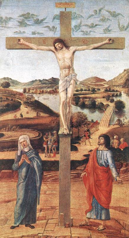 BELLINI, Giovanni Crucifix Sweden oil painting art