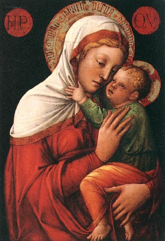 BELLINI, Jacopo Madonna with Child fh oil painting image