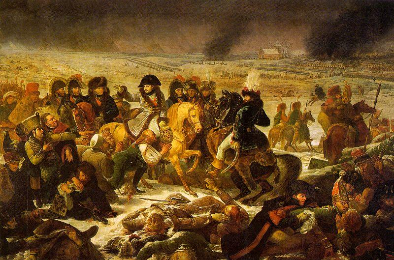 Baron Antoine-Jean Gros Napolean on the Battlefield of Eylau on 9 February 1807 oil painting image