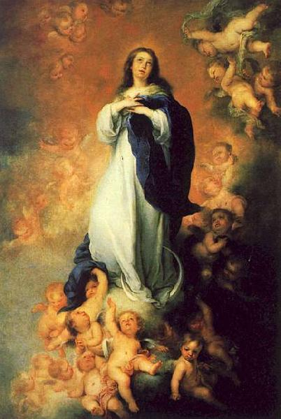 Bartolome Esteban Murillo The Immaculate Conception of the Escorial oil painting image