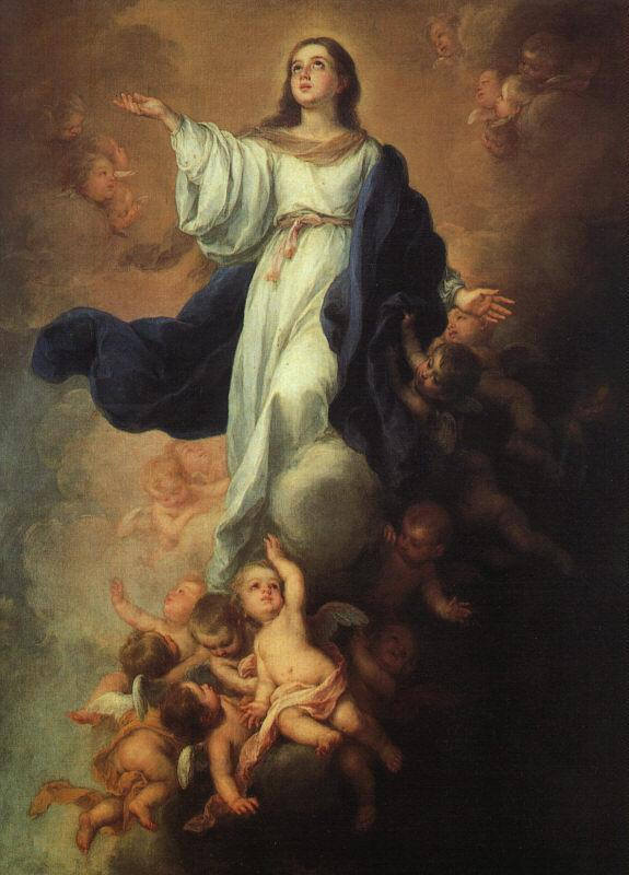 Bartolome Esteban Murillo Assumption of the Virgin oil painting image