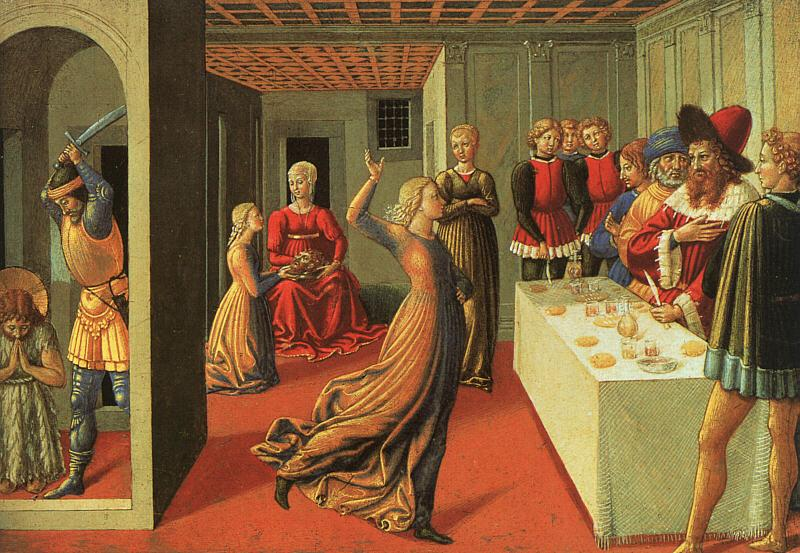 Benozzo Gozzoli The Dance of Salome oil painting image
